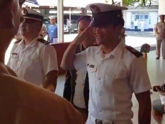 Ancajas Joins The Navy