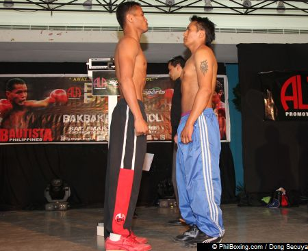 WEIGHTS FROM BOHOL FOR PINOY PRIDE XII