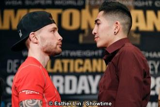 Risultati immagini per Frampton vs Santa Cruz  II  Las vegas boxer photos