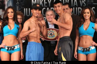 ABS CBN Sports U0026 Action, The Revamped Studio 23, Will Telecast The Exciting  Showdown Between WBO Junior Lightweight Champion Mikey Garcia And The Tough  ...
