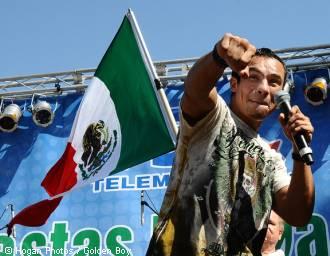 Juan Manuel Marquez Mexican Flag