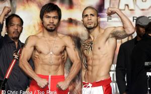 "Manny Pacquiao ( Pacman ) V Boricuan Bomber"" Miguel Angel Cotto boxing tonight!"