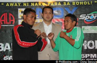 PINOY PRIDE XII – BAUTISTA AND GARCIA FACE TO FACE IN BOHOL