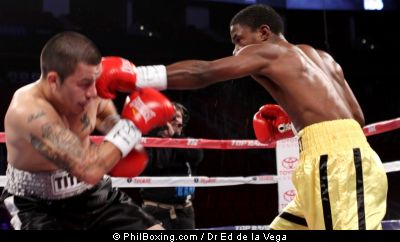 Tremaine Williams (5-0-0,2KO) of New Haven, Conn. Won via a UD over